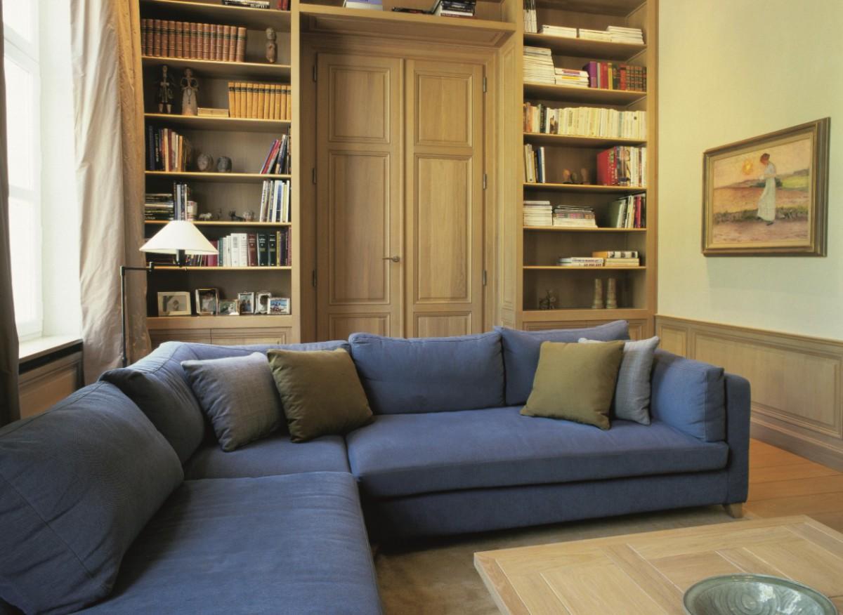Lambrisering - Boiserie-Panelling - Lefèvre Interiors Belgium