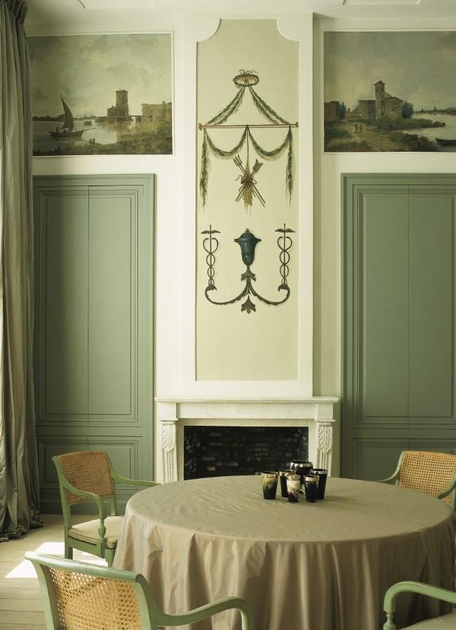 Lambrisering - Boiserie - Panelling - Lefèvre Interiors Belgium